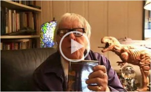 Writer Ray Bradbury on jumping from cliffs