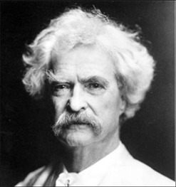 Gratuitous use of Mark Twain