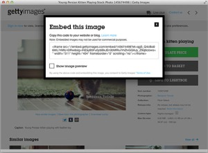 How to embed images in your blog